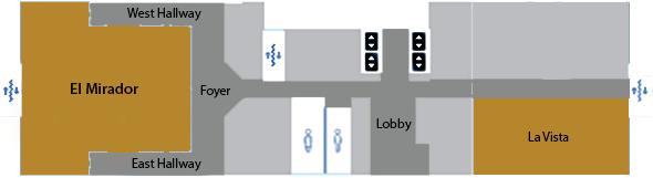 El Mirador and La Vista Conference Rooms